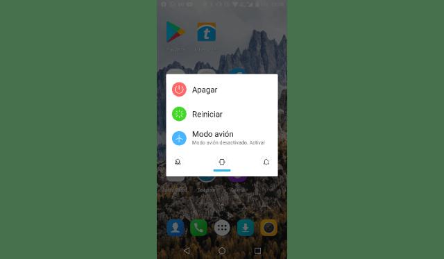 Reiniciar Android