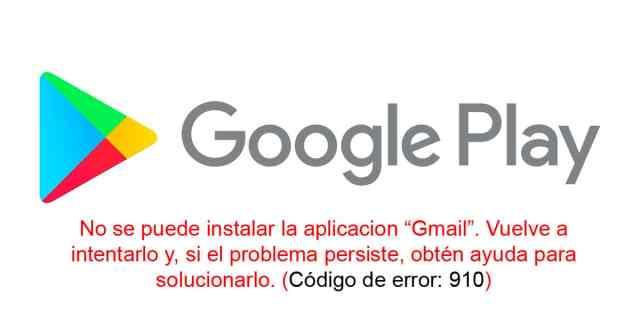 Solucionar Error 910