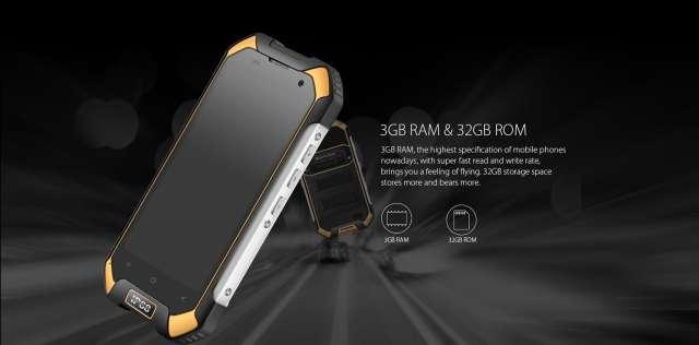blackview bv6000 4g smartphone performance