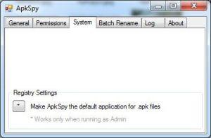 ApkSpy: program který vám udělá pořádek v souborech apk   aplikace