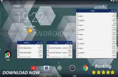 Aplikace MHD Tabule