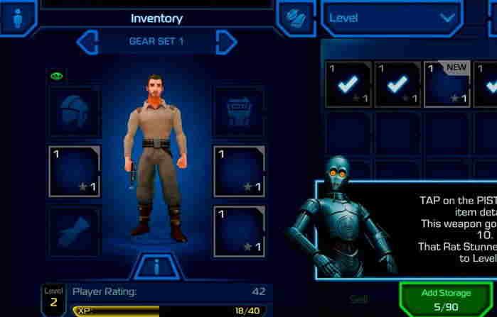 2# Star Wars: Uprising Android - android hra ke stažení