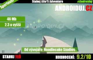 1 - Altos Adventure - Mobilní hra ke stažení