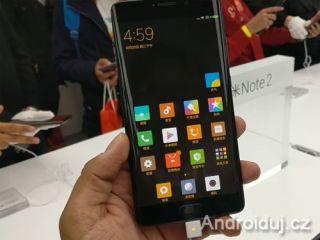 Xiaomi Mi Note 2 - telefon, prodej, specifikace