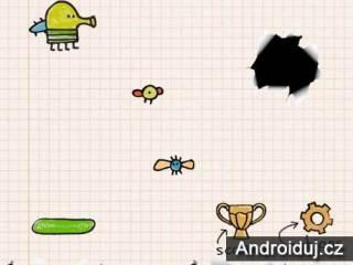 Doodle Jump HTML5 hra zdarma