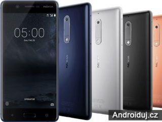 Nokia 3, 5 a 3310 se již dají v Nizozemsku předobjednat   novinky