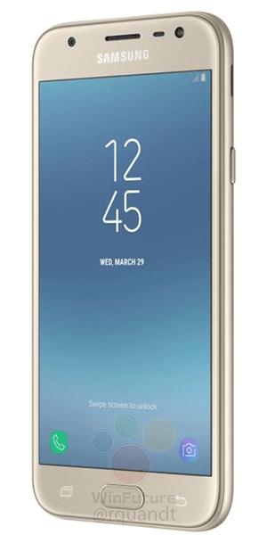 Samsung Galaxy J7 2017 - zlatá varianta