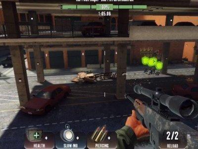 Kill Shot Virus - odstřelovací zbraň