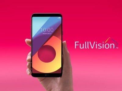 Full Vision displej