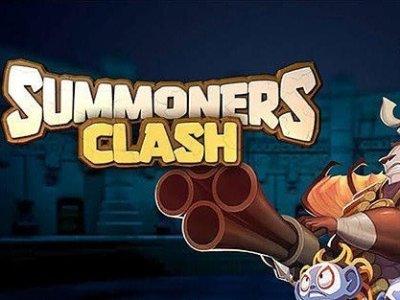 Summoners clash hra na android zdarma