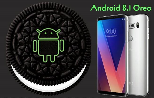 android 8.1 lg v30