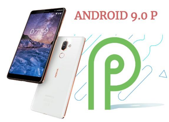 Nokia 7 plus android 9.0 p