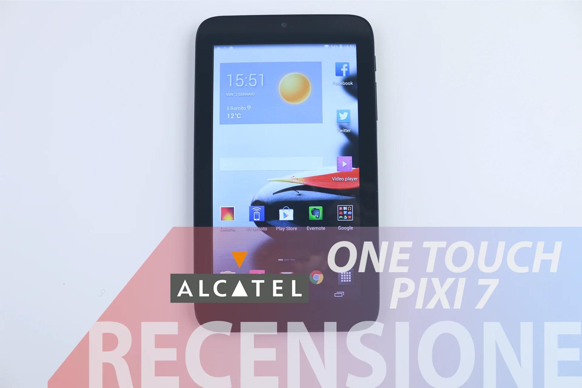 Recensione Alcatel One Touch Pixi 7   AndroidWorld