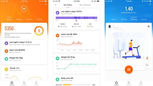 L'app Mi Fit si aggiorna: ancora novità grafiche e arriva il timer ...
