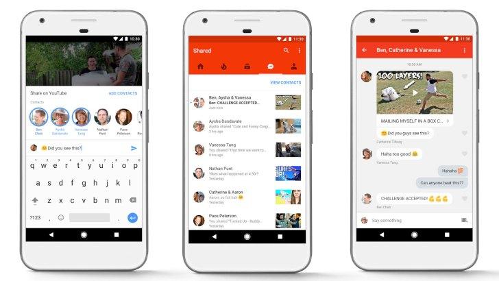 تحديث يوتيوب الجديد يتيح المحادثات و مشاركة الفيديو مع أصدقاءك داخل التطبيق