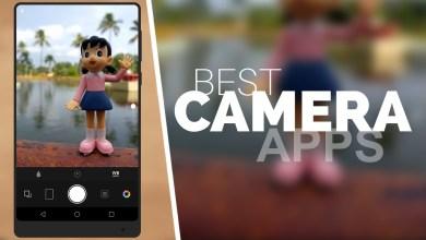 تطبيقات الكاميرا