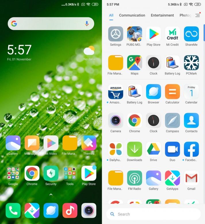 مميزات وخصائص واجهة Xiaomi MIUI 11 الجديدة