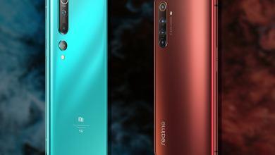 مقارنة بين هاتف Realme X50 Pro و Xiaomi Mi 10