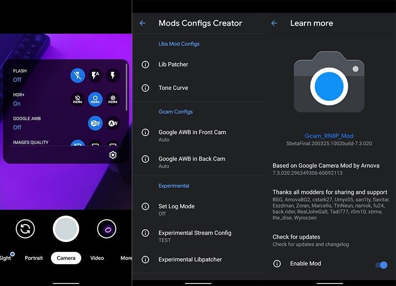 Xiaomi و Redmi شاومي و ريدمى Google Camera تحميل تطبيق لهواتف