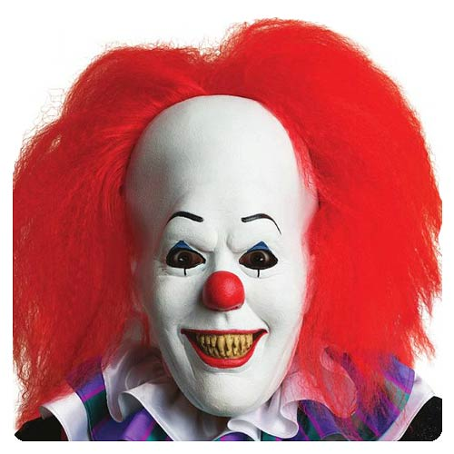Rubies - Stephen King's IT Pennywise Clown Mask with Hair #RUB-68544
