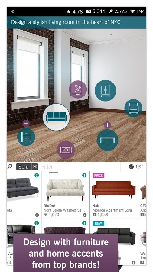 Design Home MOD APK Unlimited Money Download 1 00 16 – AndroPalace