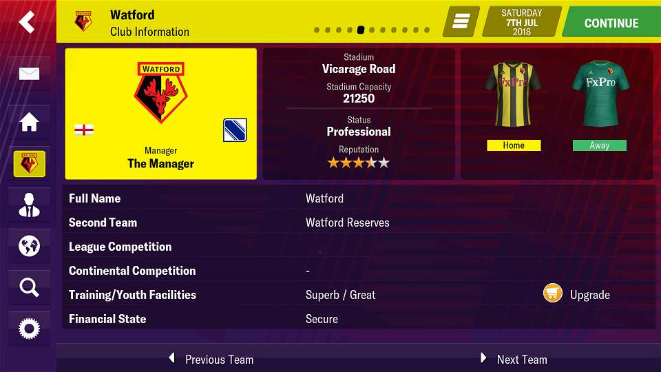 football manager 2019 apk android