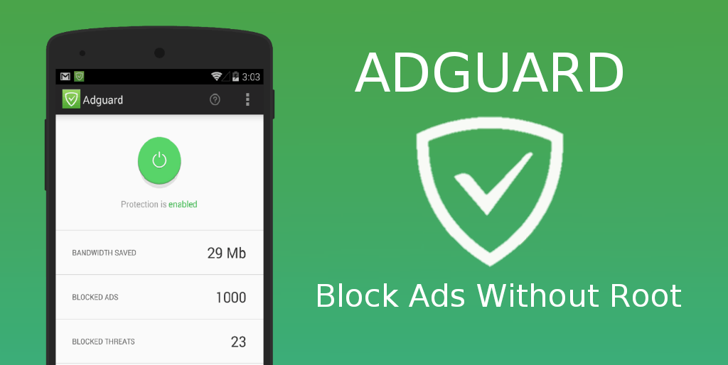 Adguard – Block Ads Without Root v3.3.129 [Nightly] [Premium] [Mod] APK