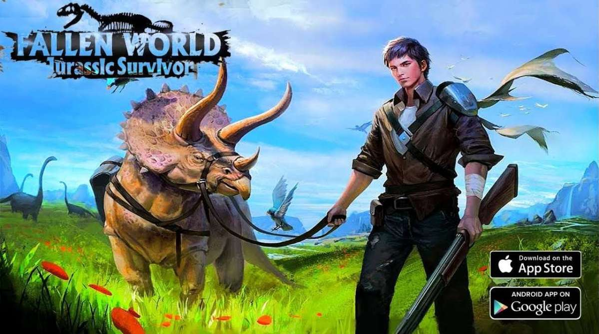 Fallen World Jurassic survivor APK MOD Android Download