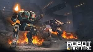 Robot Warfare APK MOD   Unlimited Ammo 0.2.2306