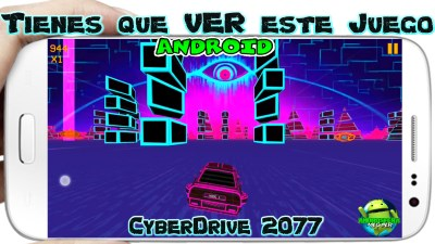 CyberDrive 2077 para Android Brutal y Adictivo juego Virtual de Carreras