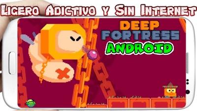 Deep Fortress para Android Juego Arcade Platformer muy entretenido
