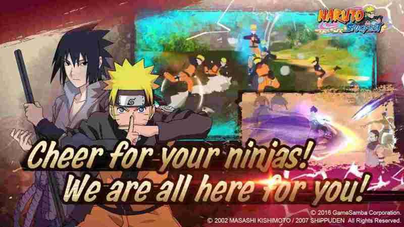 Naruto Slugfest para Android Impresionante juego