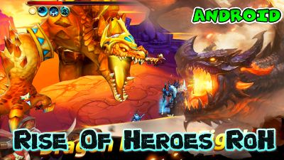 Rise of Heroes RoH para Android rol RPG apk