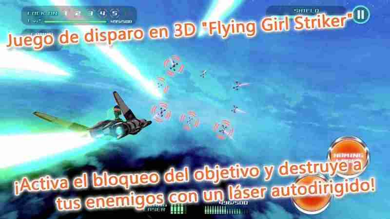 Flying Girl Striker apk para Android Este juego esta brutal
