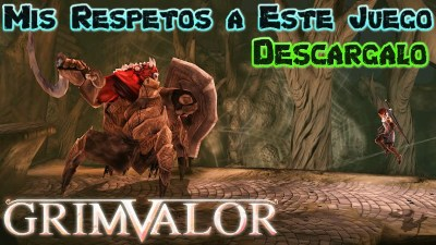 Grimvalor apk para Android ya Disponible increible juego