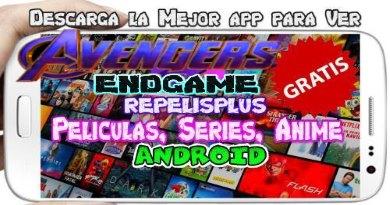 RepelisPlus APP para Android Mira tus mejores películas y series Gratis