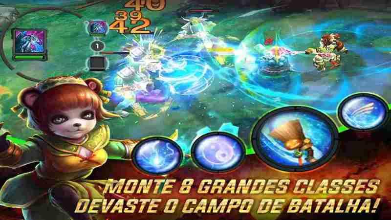 Mestre Panda Android RPG es un juego hack and slash