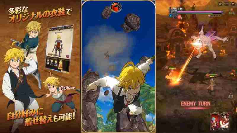 Nanatzu no Taizai apk Battle of the Light and Darkness Android Official