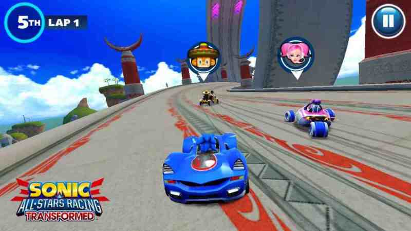 Sonic Racing Transformed apk para Android