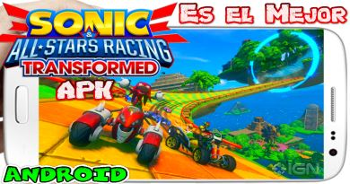 Sonic Racing Transformed apk para Android Descarga 2019