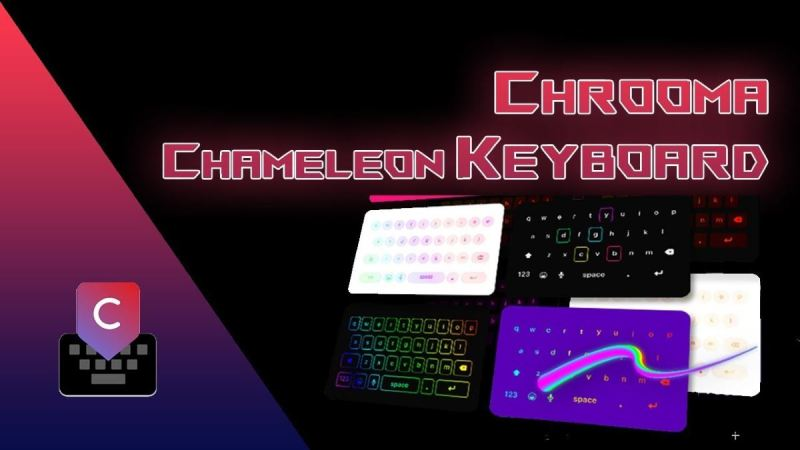 Chrooma Keyboard MOD Premium apk para Android lights rgb led