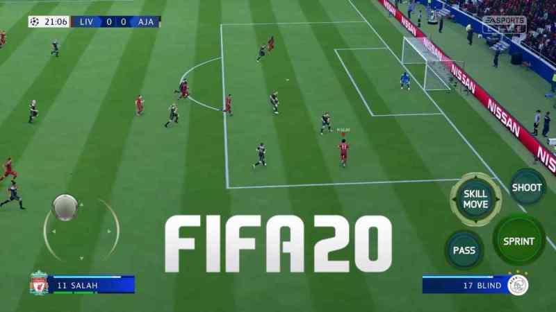 FIFA MOBILE 20 apk para Android El nuevo juego de EA