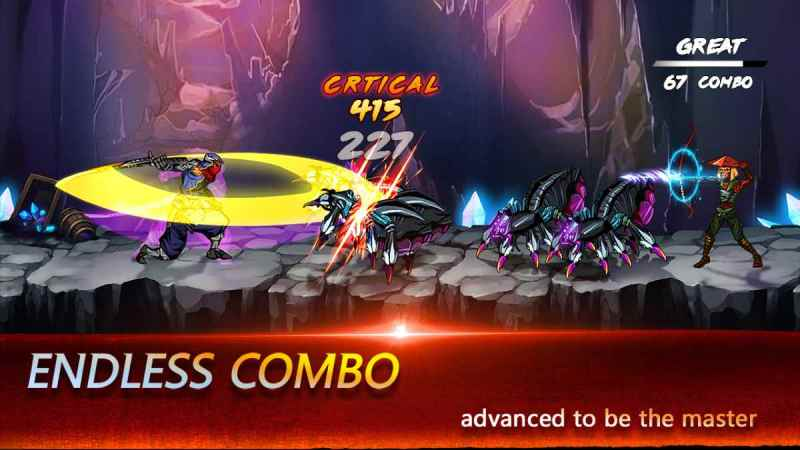 Ninja Hero para Android Mega épico juego Sin Internet
