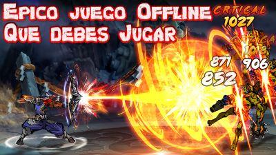 Ninja Hero para Android Mega épico juego Sin Internet Offline