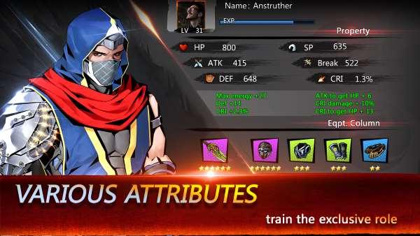 Ninja Hero para Android Mega épico juego 2019