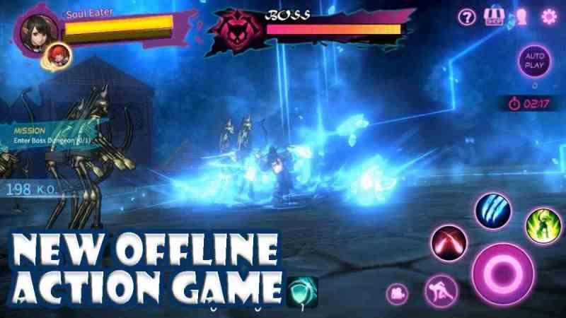 A tag Knight apk para Android Tremendo juego RPG