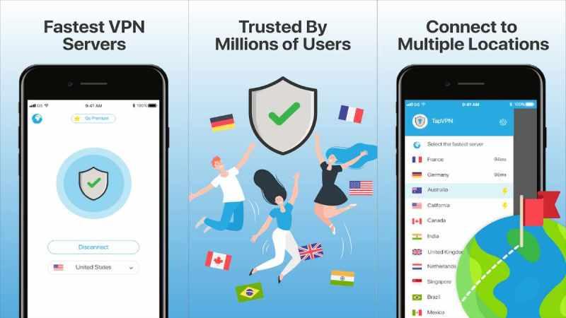 TapVPN VPN para Android Navega con la mejor Seguridad