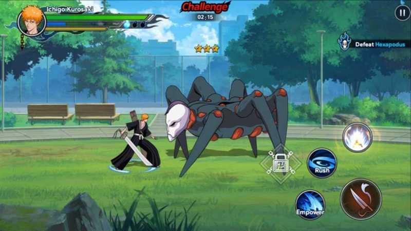BLEACH Soul Bankai apk para Android Juego anime lleno de acción