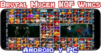 King Of Fighters Wings Of Justice Ultra MUGEN para Android y PC