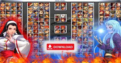 Kof Infinity Mega Mugen para Android y PC mas de 300 personajes